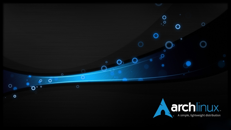 blueblack blue black dark linux arch linux arch 1920x1080 wallpaper 800x450