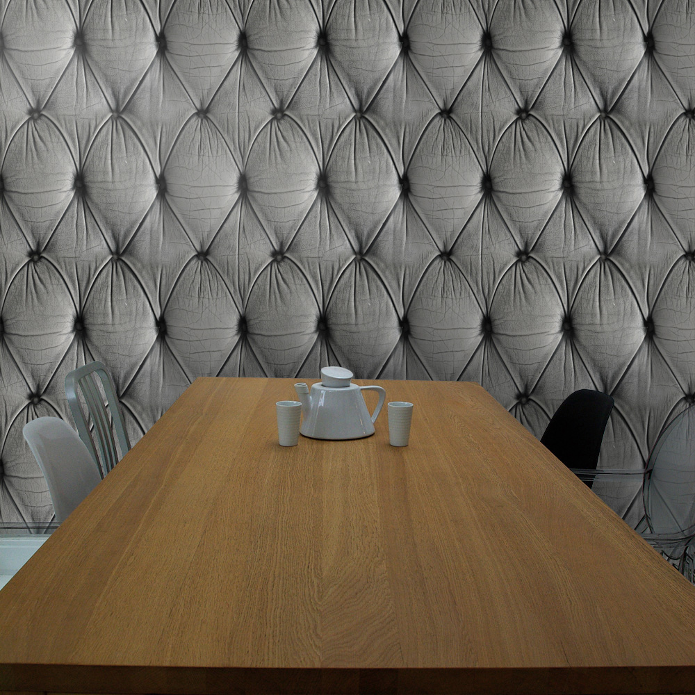 Feel With Wallpapers chesterfield button back wallpaper mineheart 1000x1000