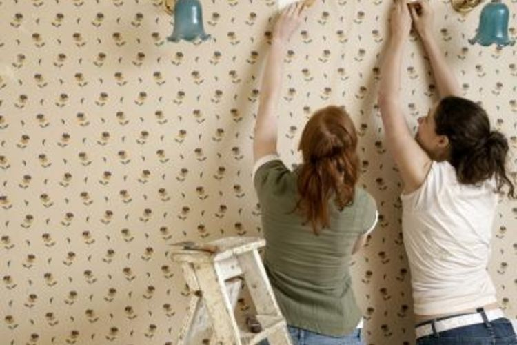 Can You Paint Over Wallpaper Glue Backing 750x500