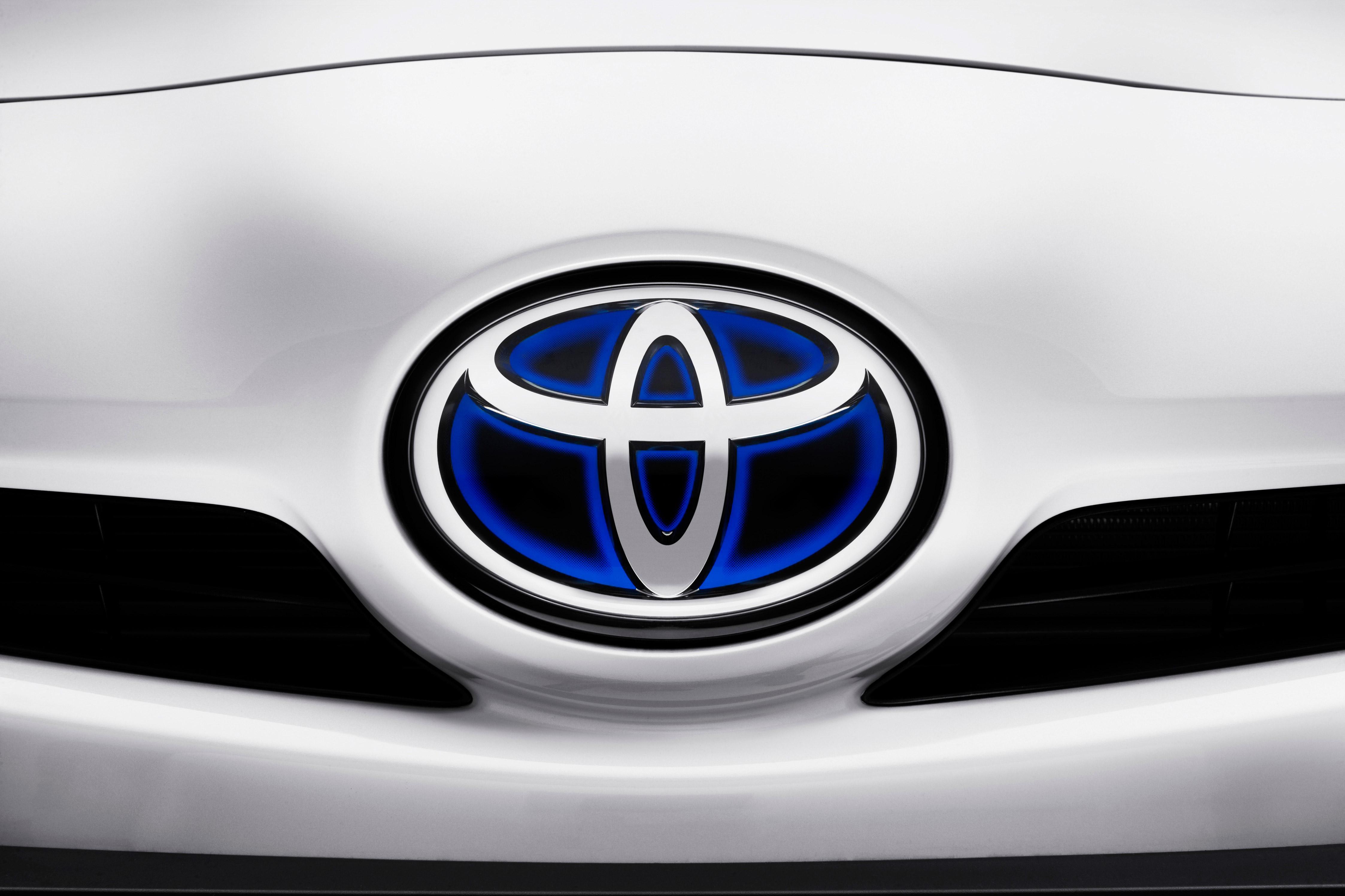 Toyota Logo Wallpaper 4493x2995