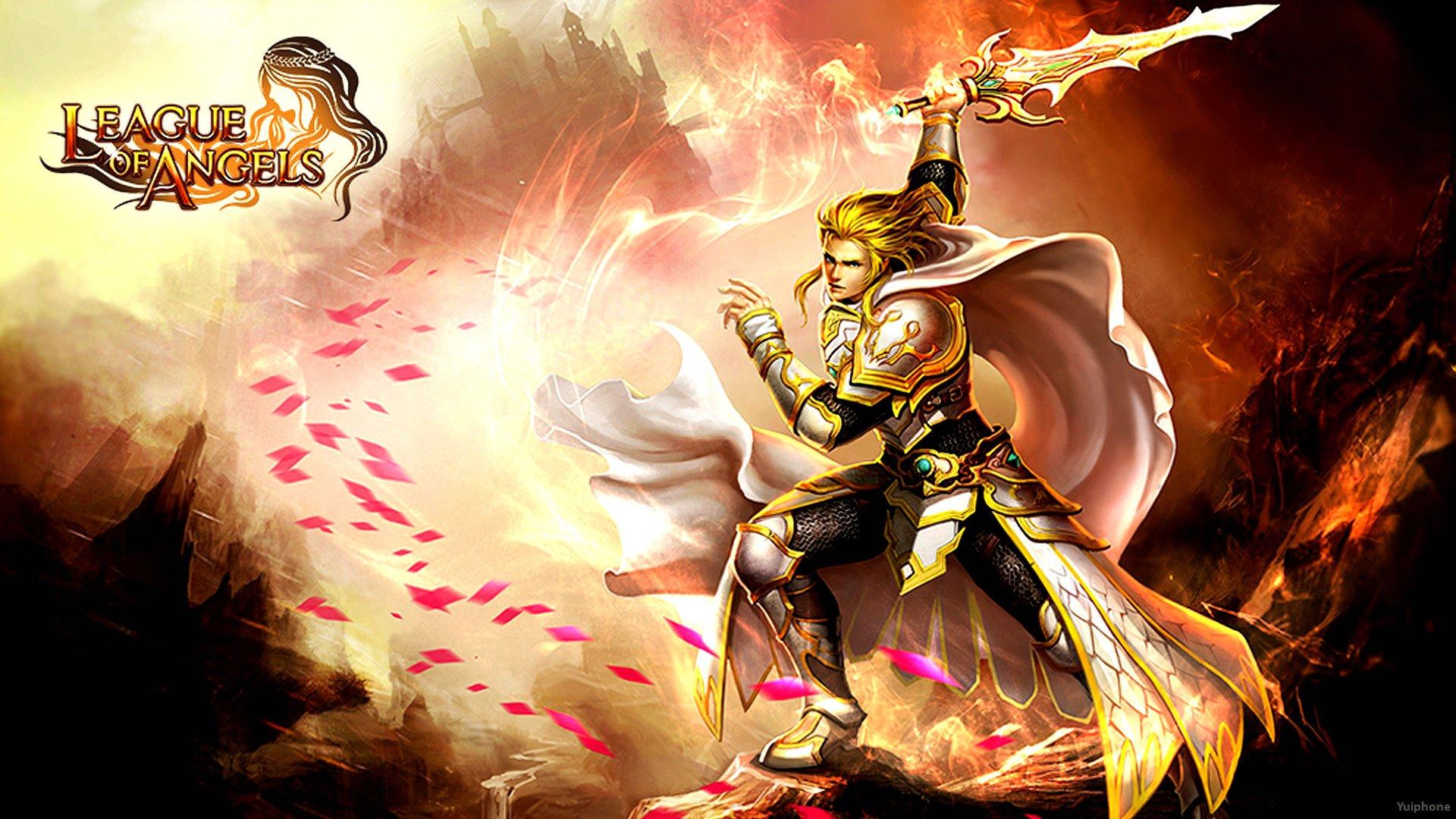 OF ANGELS fantasy angel warrior league angels game loa 19 wallpaper 1920x1080
