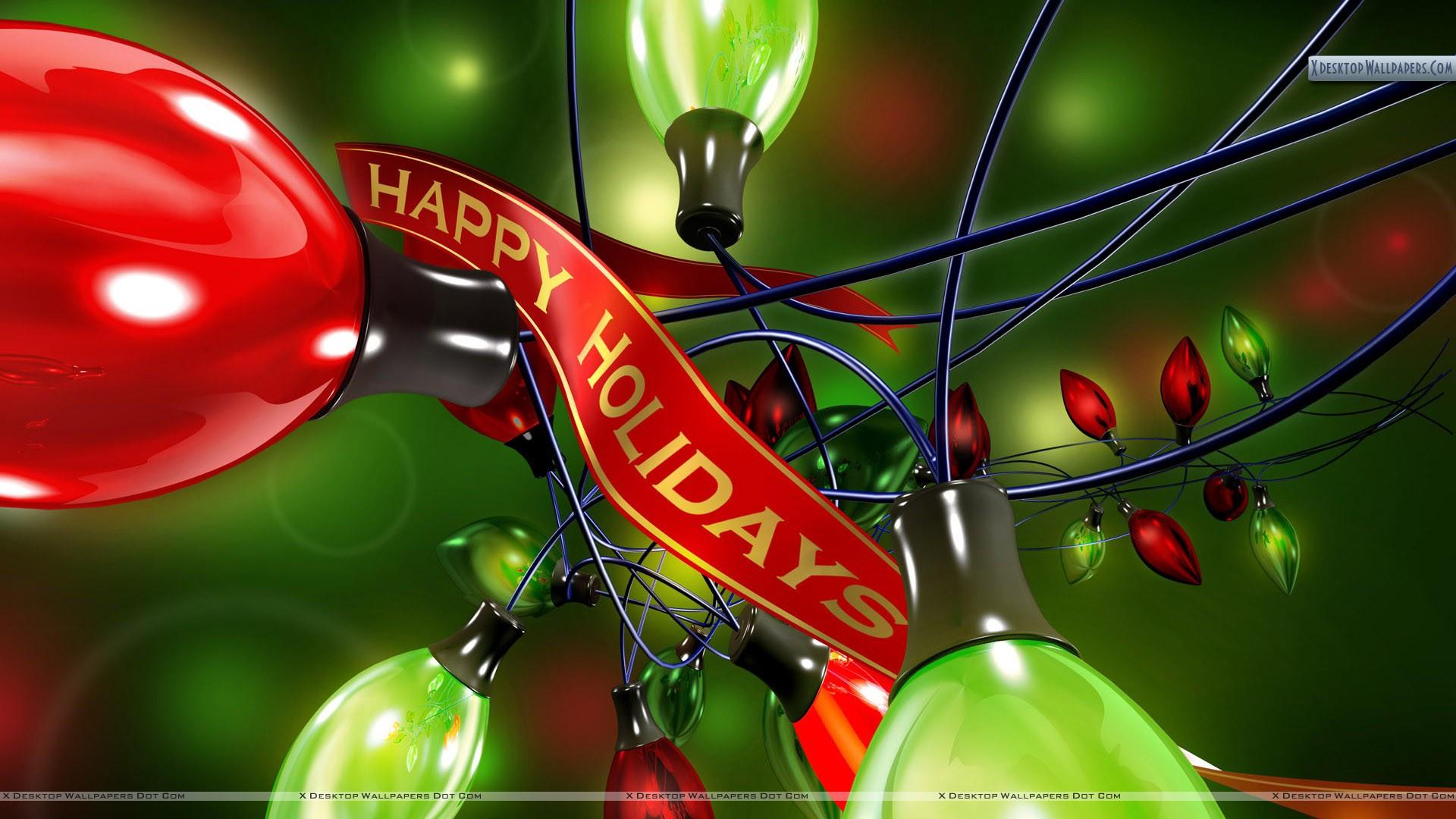 Happy Holidays Wallpaper 1920x1080
