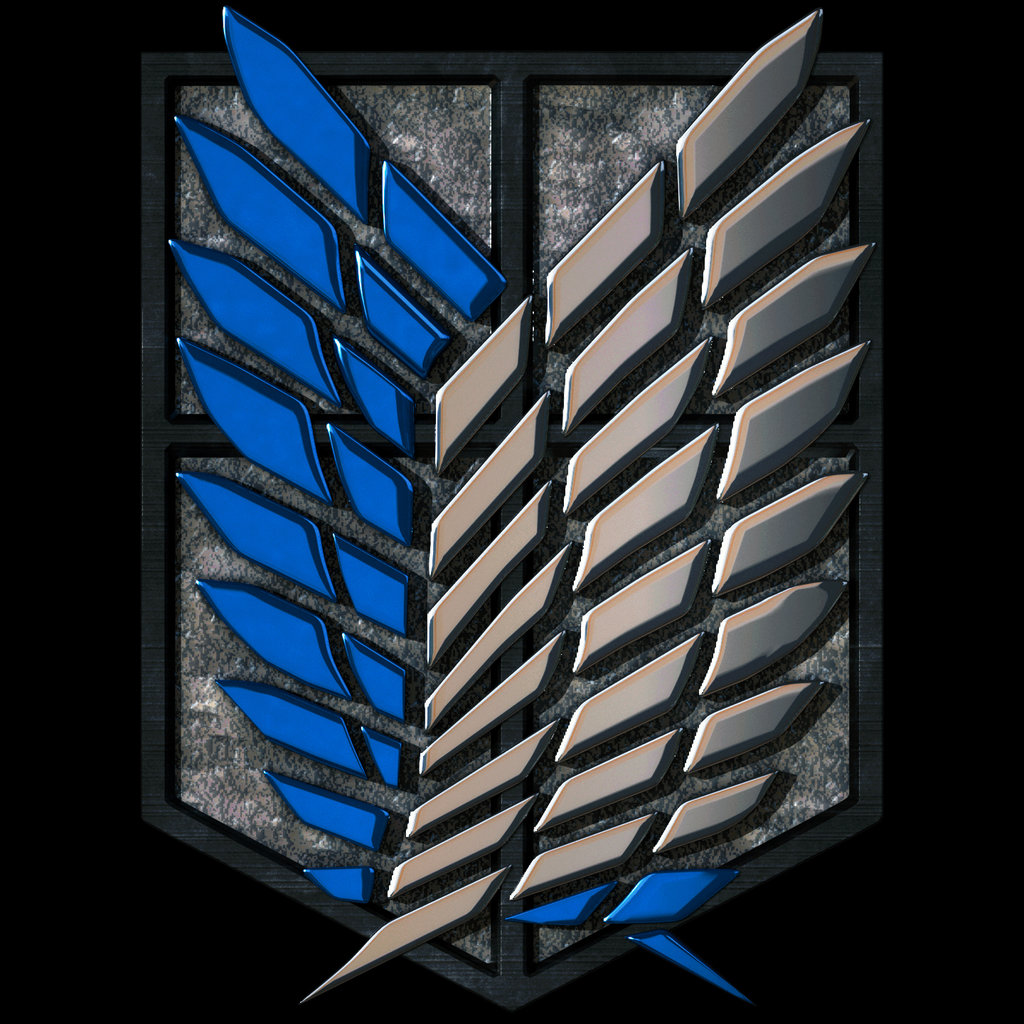 Attack On Titan Logo Wallpaper