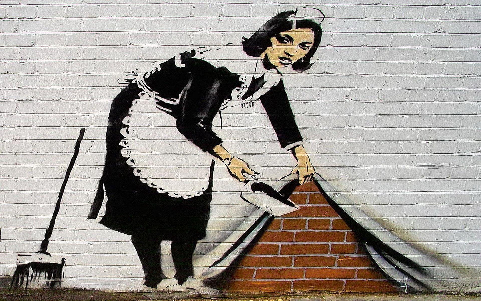 71+ Banksy Wallpaper Hd on WallpaperSafari