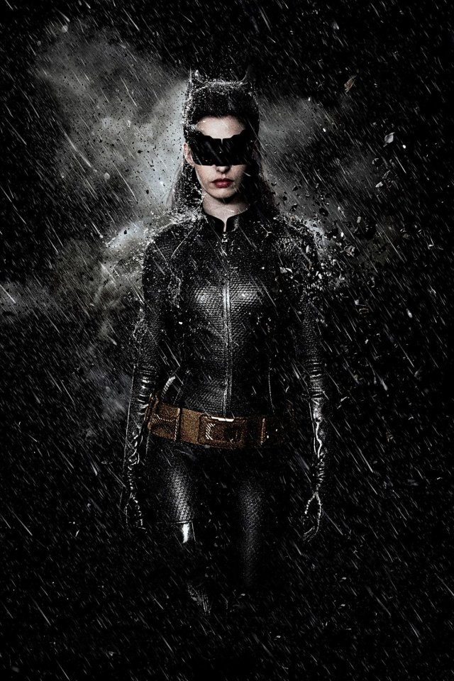 The Dark Knight Rises Catwoman Rise Iphone Wallpaper 640x960