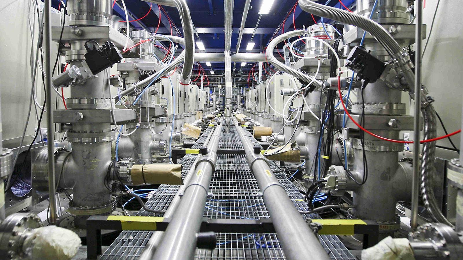 Italian neutrino experiment to move to the US symmetry magazine 1600x900