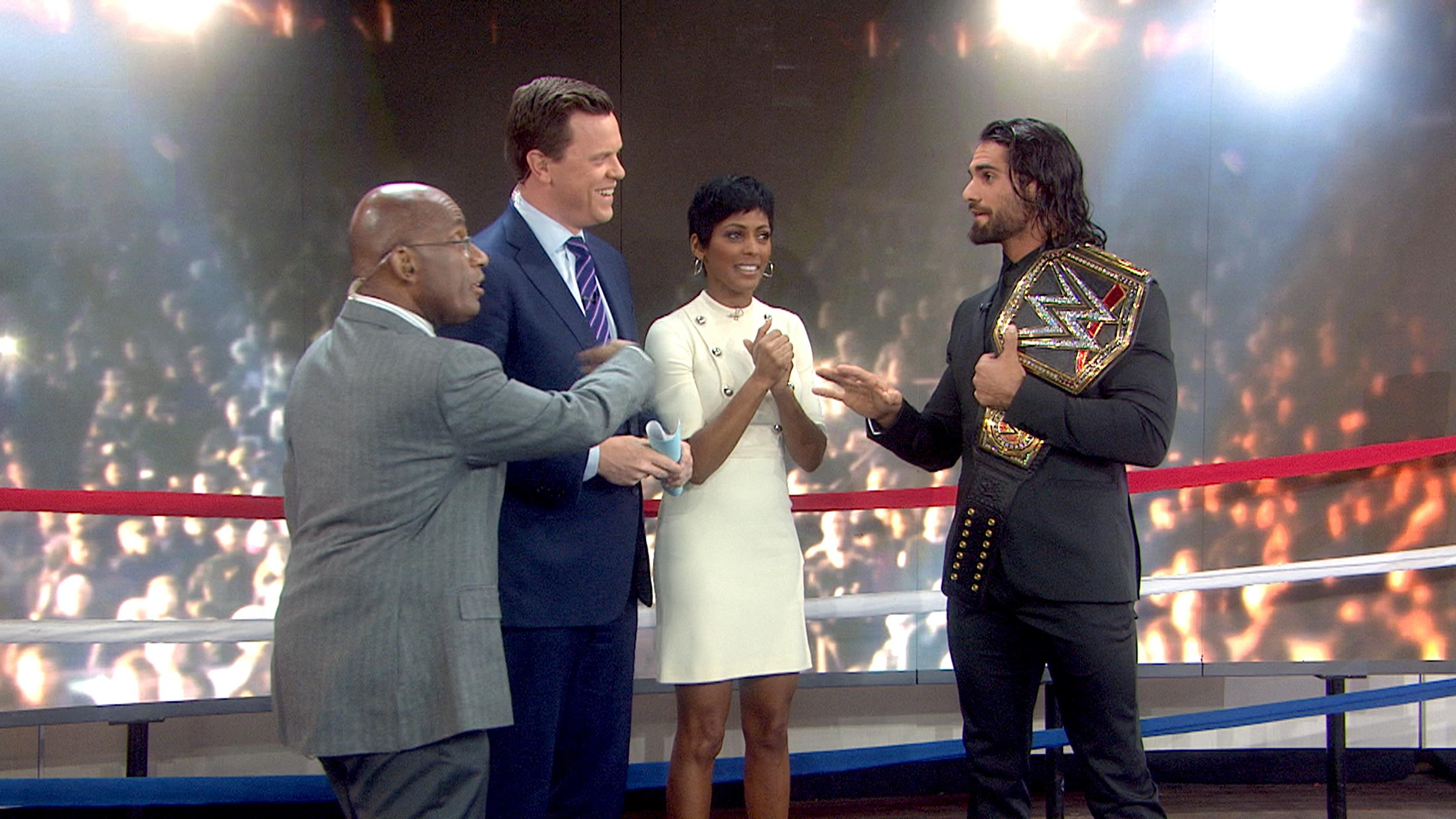 Free Download Wwe Champ Seth Rollins Puts Today Anchors In The