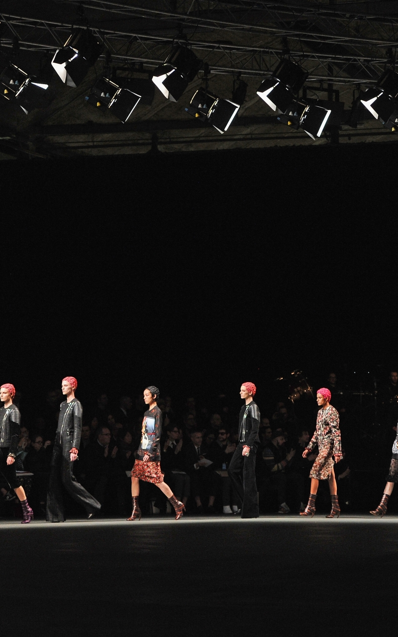 download Givenchy fashion show wallpapers and images 800x1280