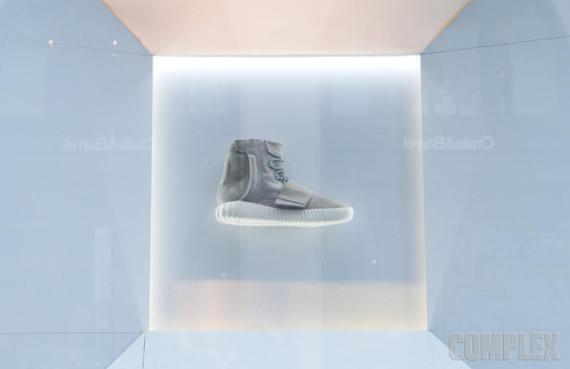 adidas yeezy 750 boost on display nyc 01 570x369