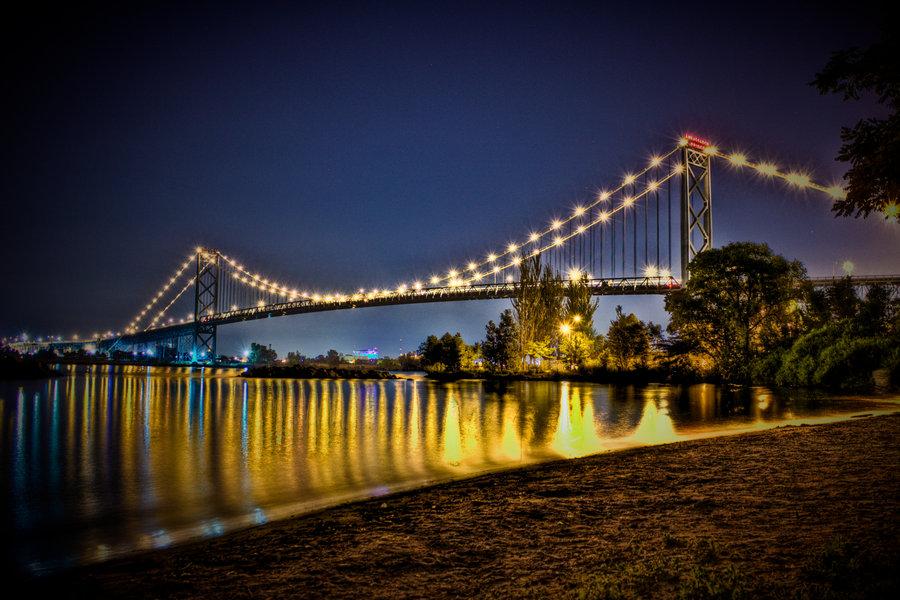 Ambassador Bridge by II McCloud II 900x600