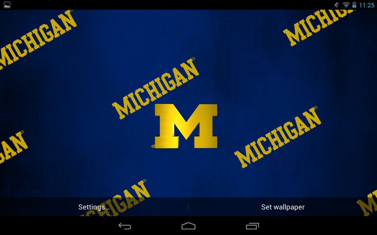 michigan wolverine wallpaper for android