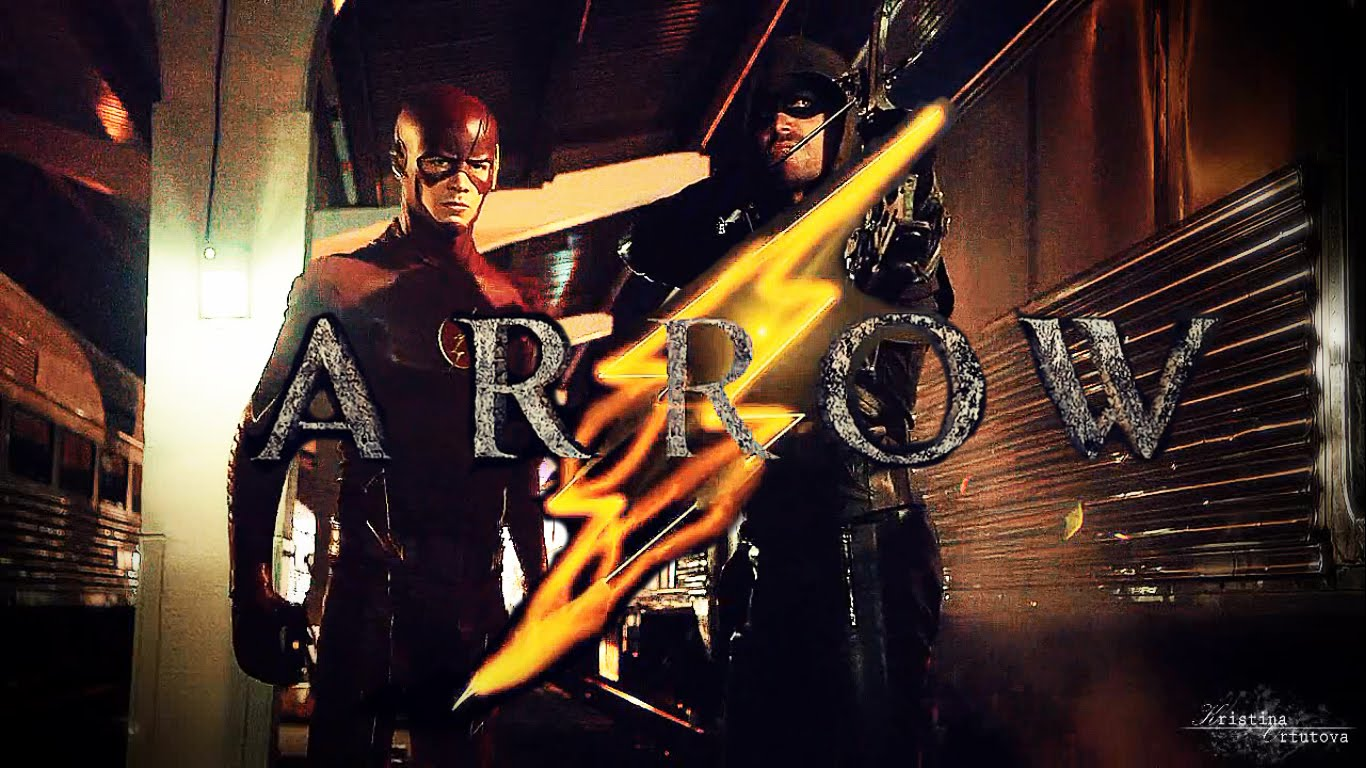 Photos the flash arrow wallpaper page 2 1366x768