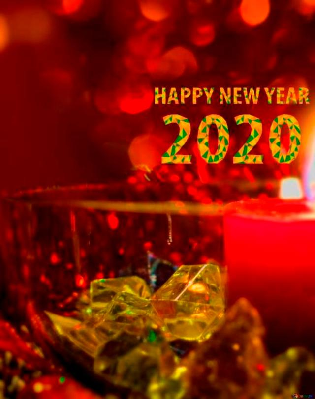 Happy New Year 2020 HD Wallpapers Gif Photos Pictures Images 640x812
