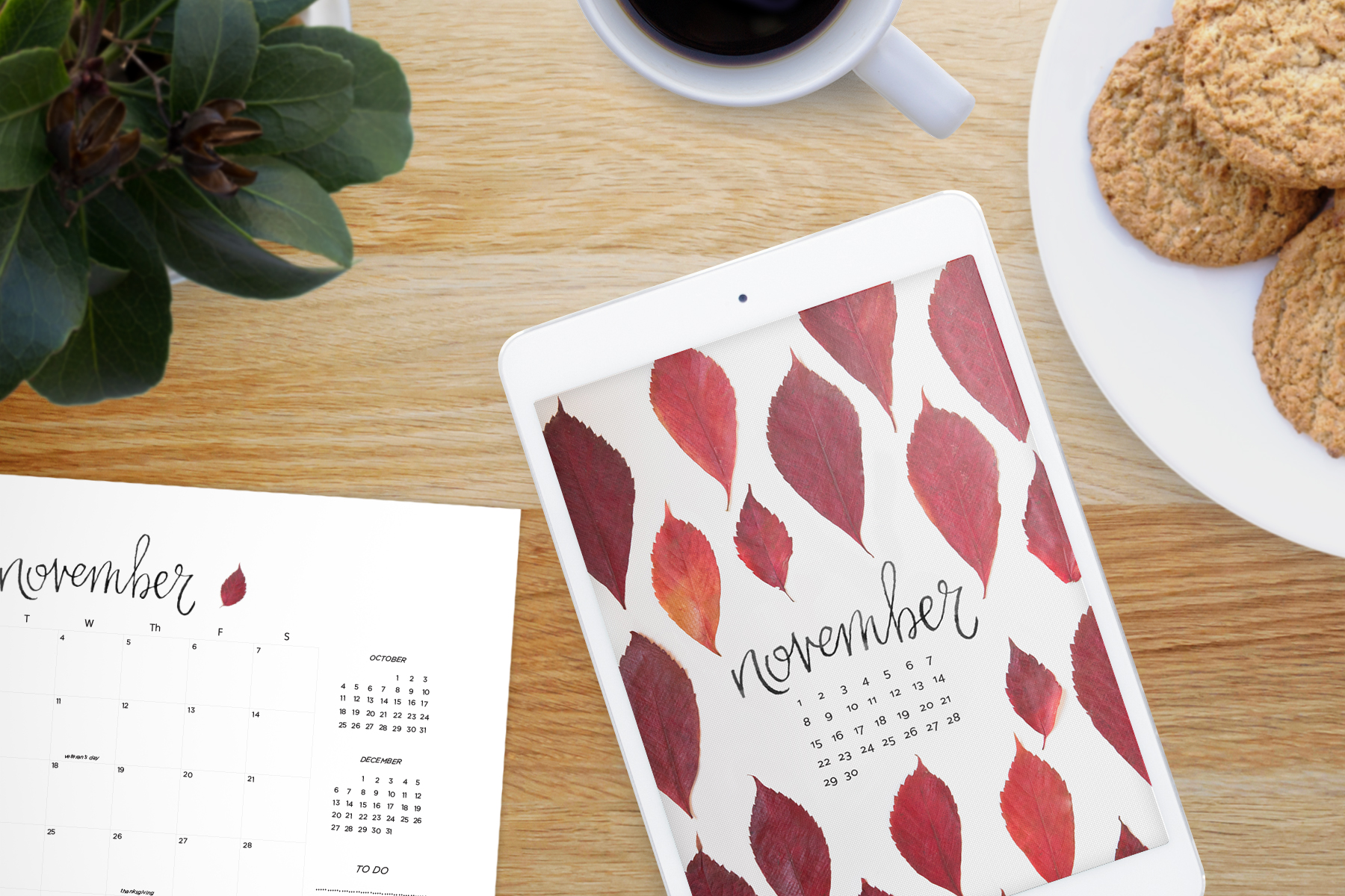 Our November 2015 free calendars and wallpaper downloads *leaves ...
