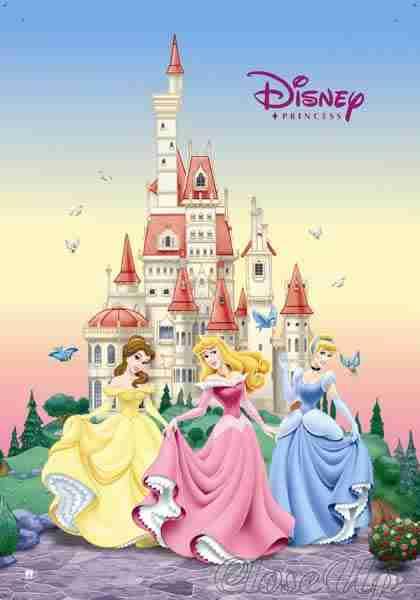 50+ Disney Princess Castle Wallpaper on WallpaperSafari