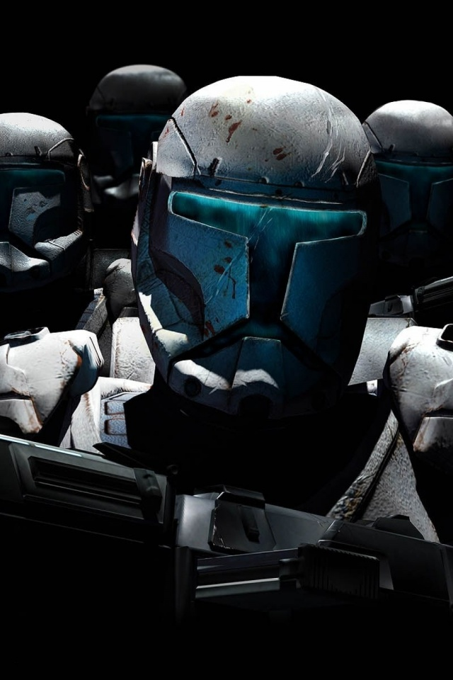 640x960 Star Wars Republic Commando Iphone 4 wallpaper 640x960