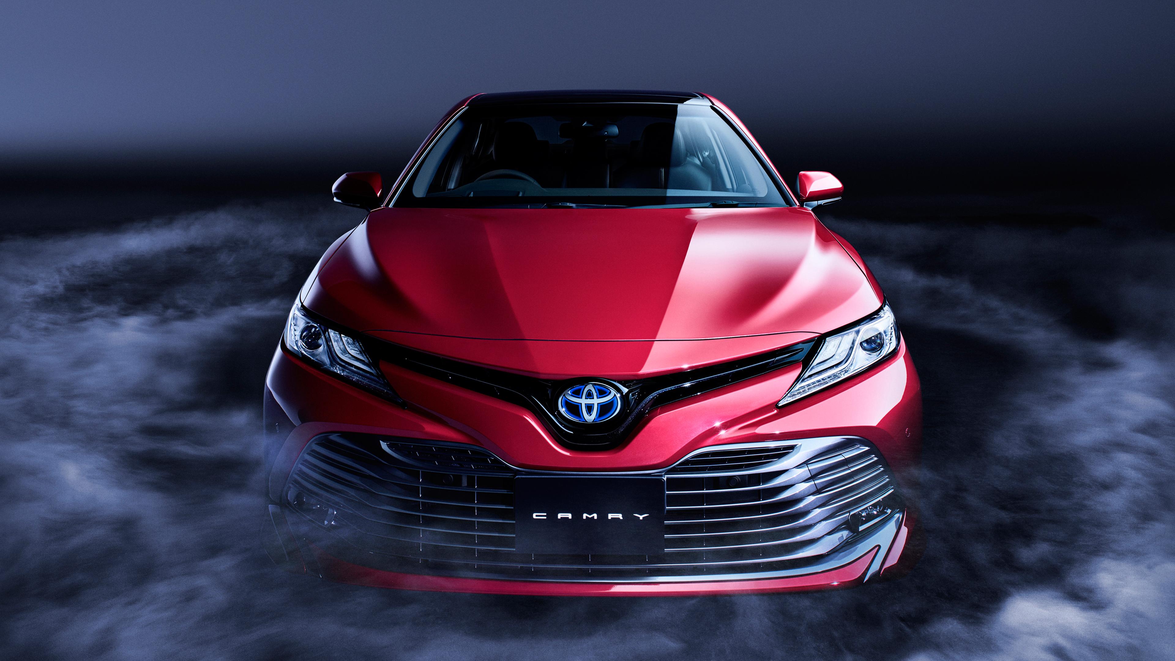 2018 Toyota Camry Hybrid 4K Wallpaper HD Car Wallpapers ID 7933 3840x2160