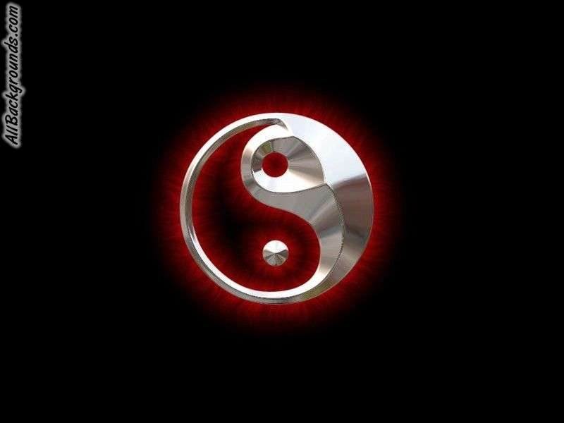 Ying Yang Backgrounds - Twitter & Myspace Backgrounds