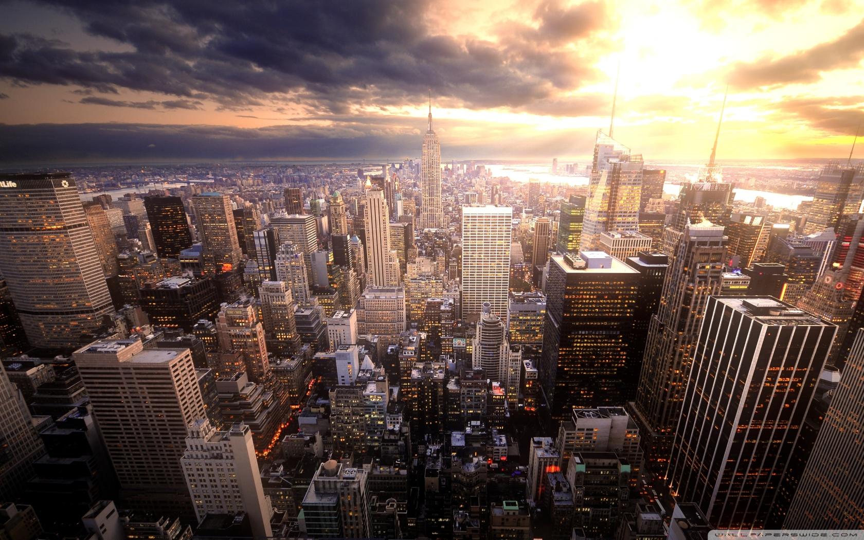 Manhattan 4K HD Desktop Wallpaper for 4K Ultra HD TV Tablet 1680x1050