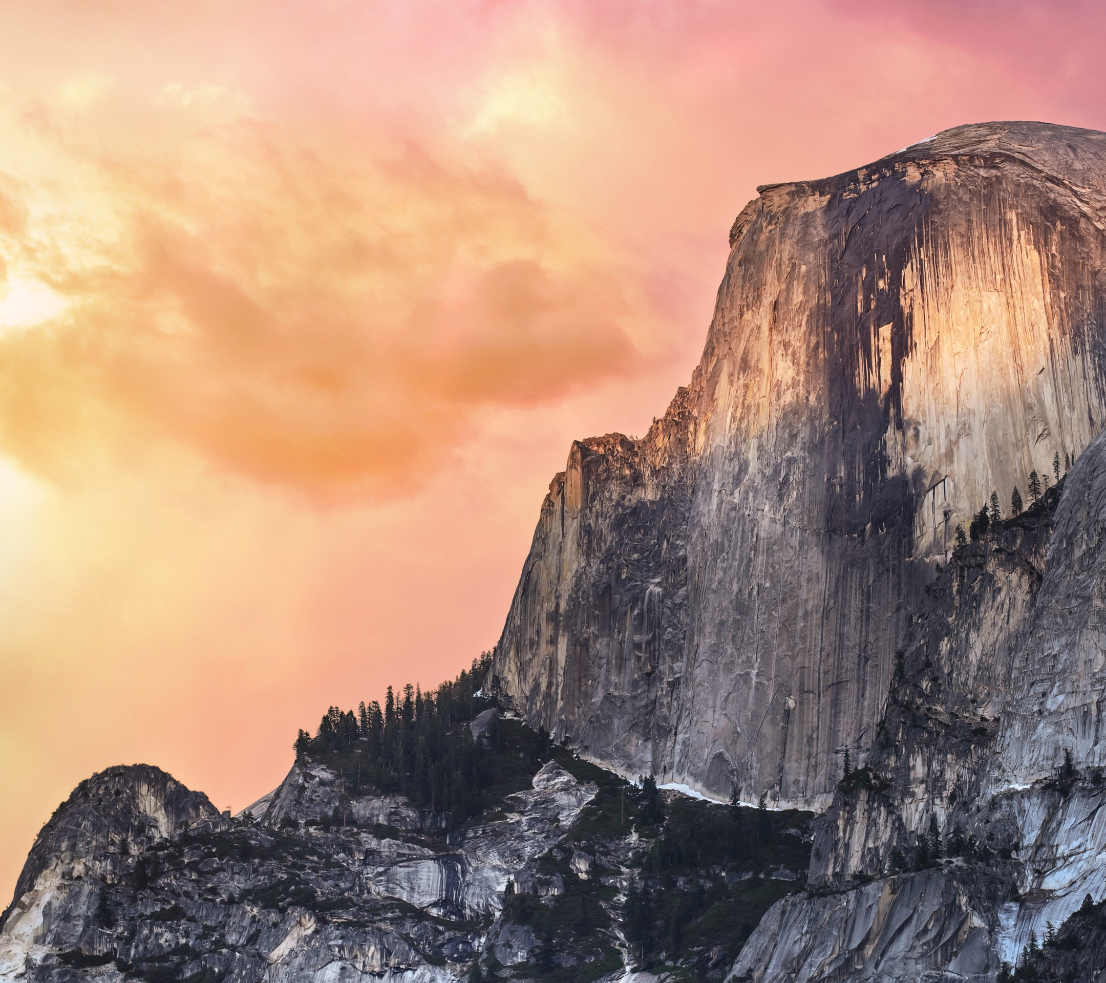 Mac OSX Yosemite Sunset Apple Desktop Wallpaper 2160x1920
