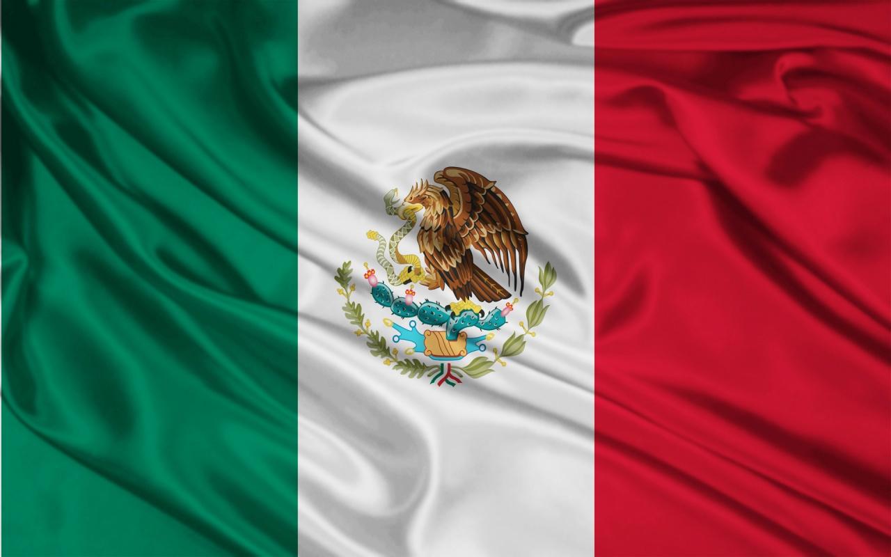 1280x800 Mexico Flag desktop PC and Mac wallpaper 1280x800