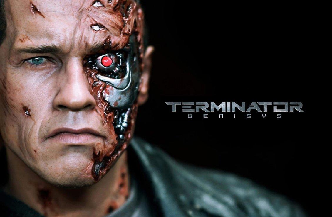 Terminator Genisys new 2015 movie wallpaper 1130x740