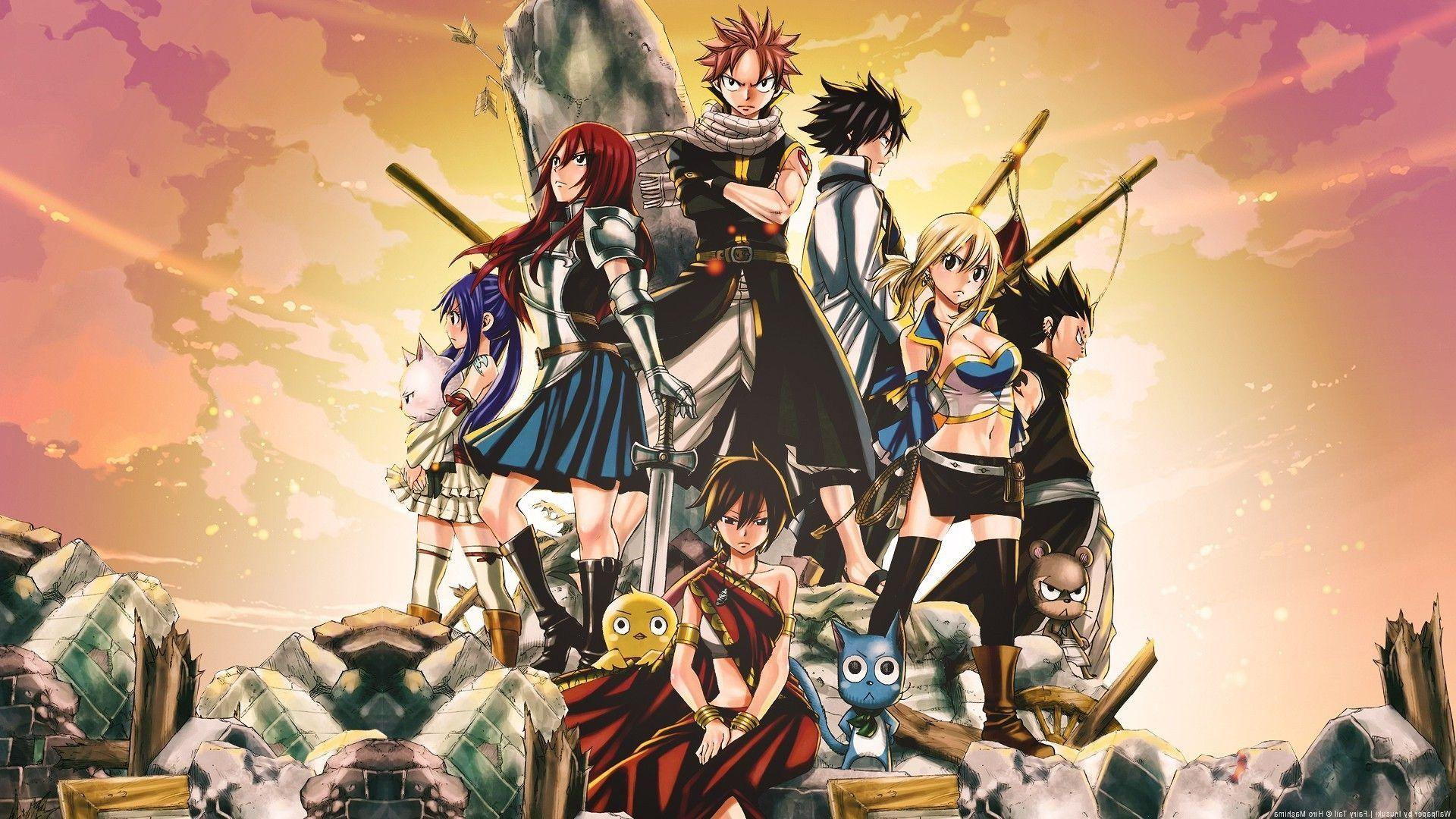 Fairy Tail 2016 Wallpapers HD 1920x1080
