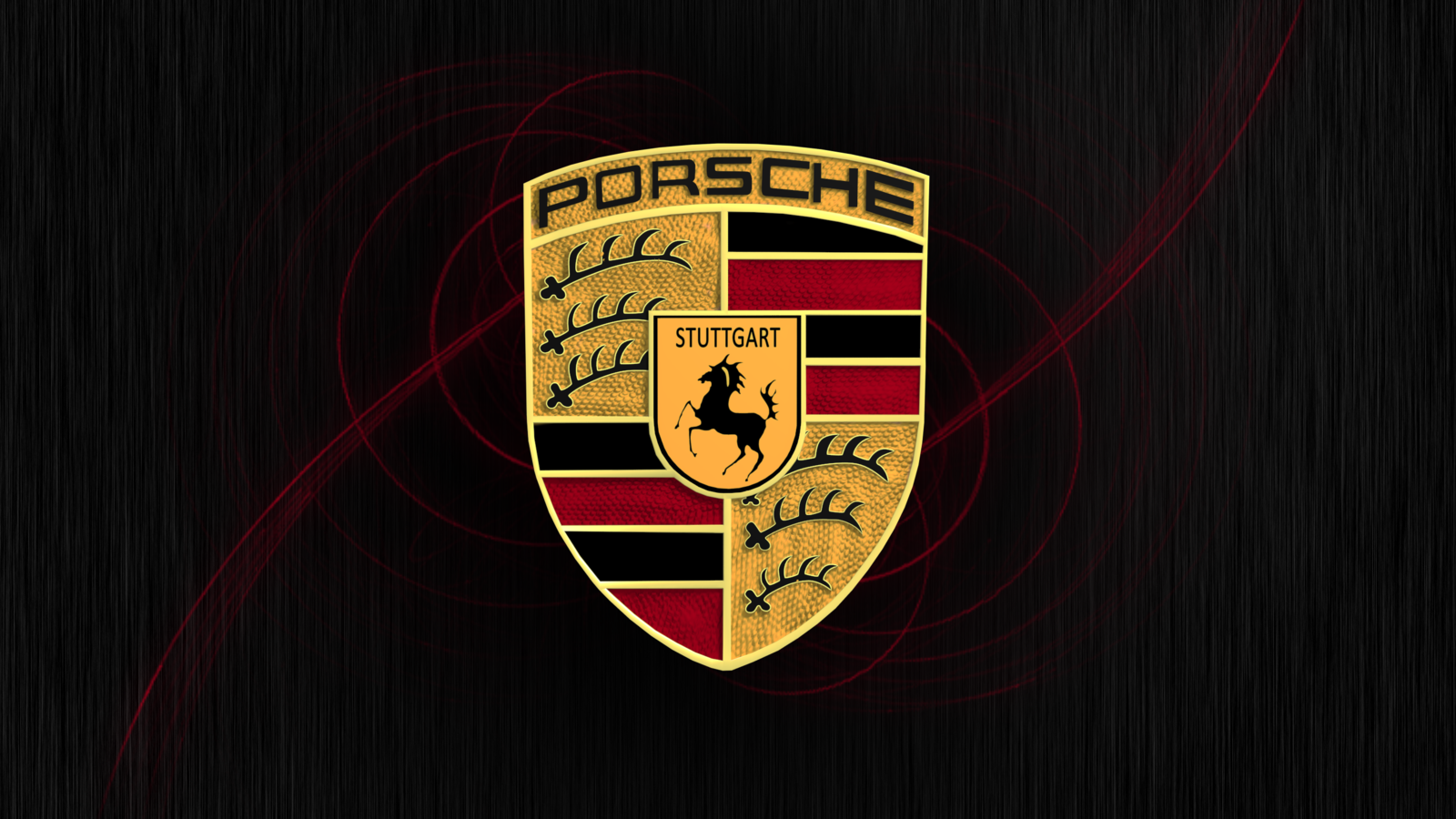 Porsche Logo Wallpaper 1600x900
