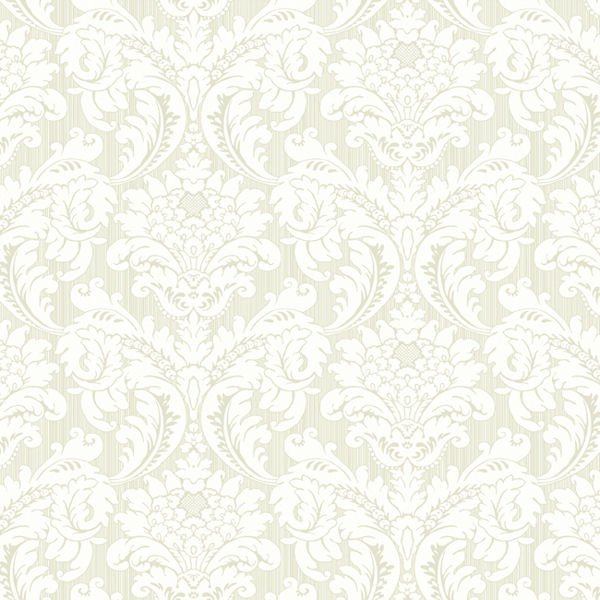 Green and White Strie Flat Damask Wallpaper   Wall Sticker Outlet 600x600