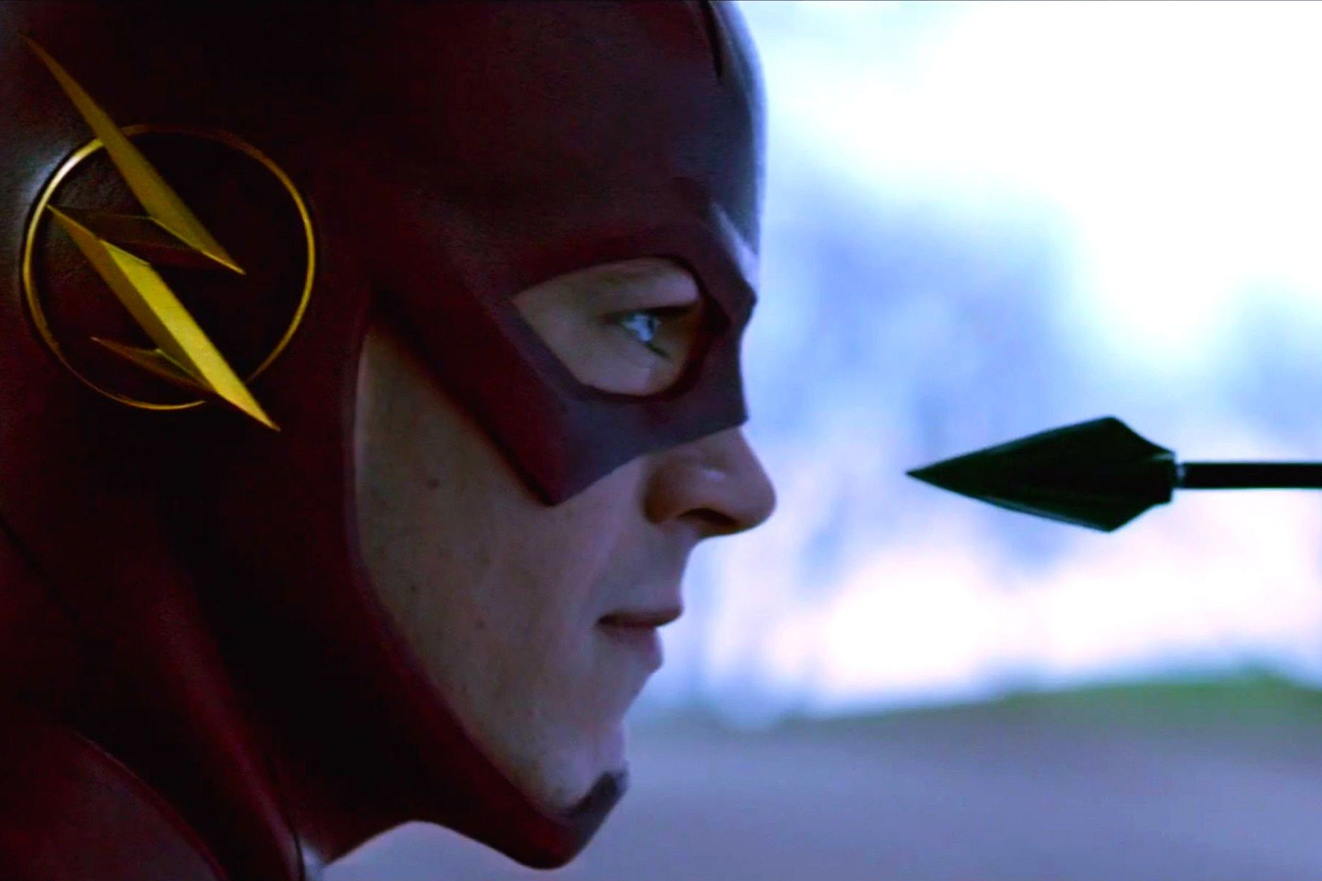 the flash tv show stills wallpaper arrow and the flash mashup oliver 1920x1280