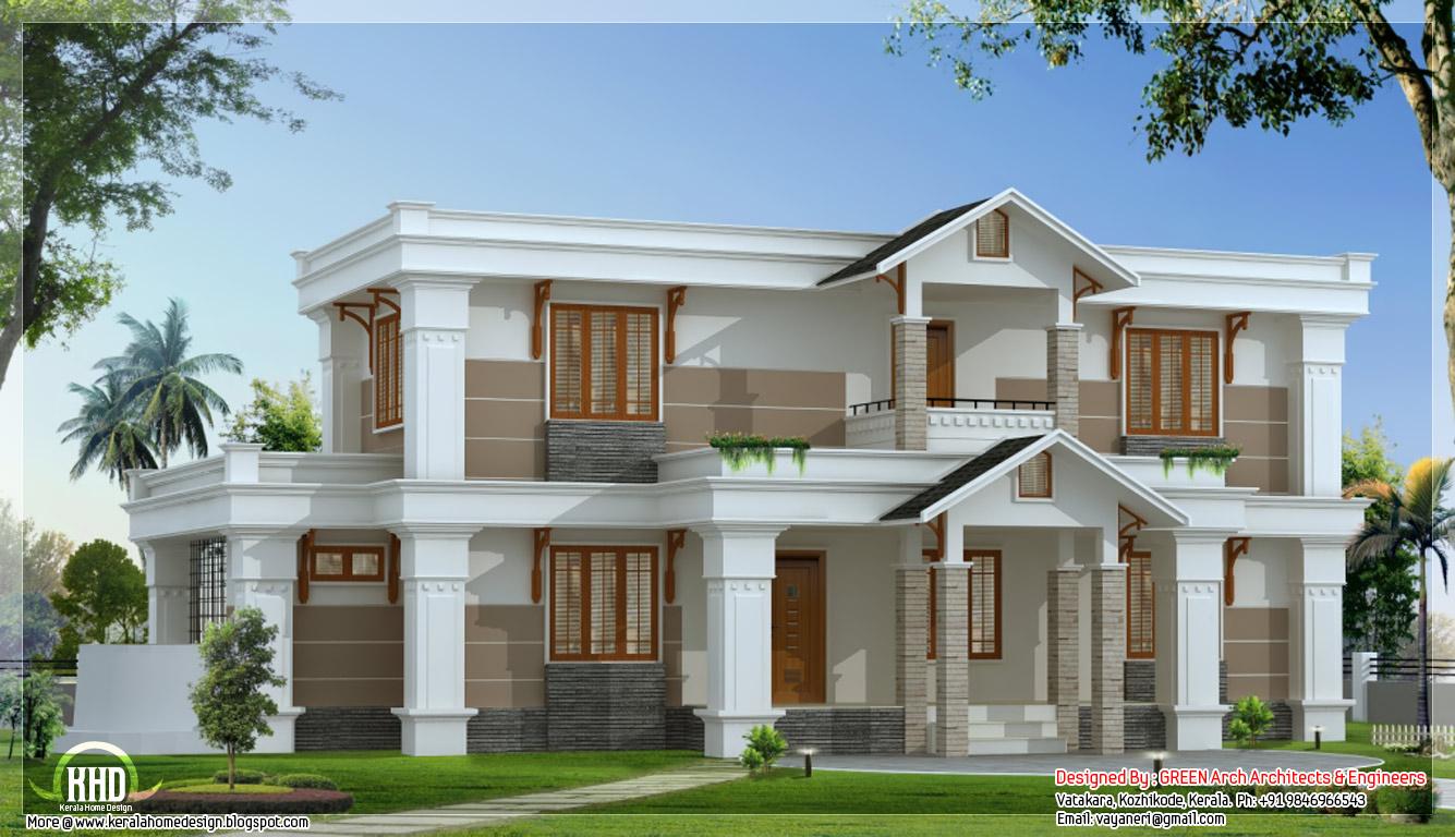 Modern House Designs 23 Widescreen Wallpaper 1335x768