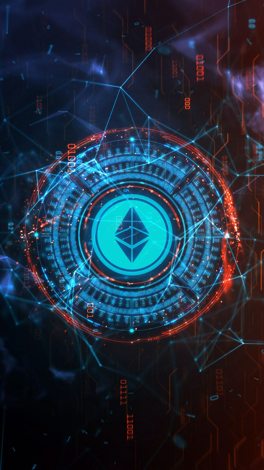 Ethereum cryptocurrency smartphone video wallpapers Iphone 1080x1920