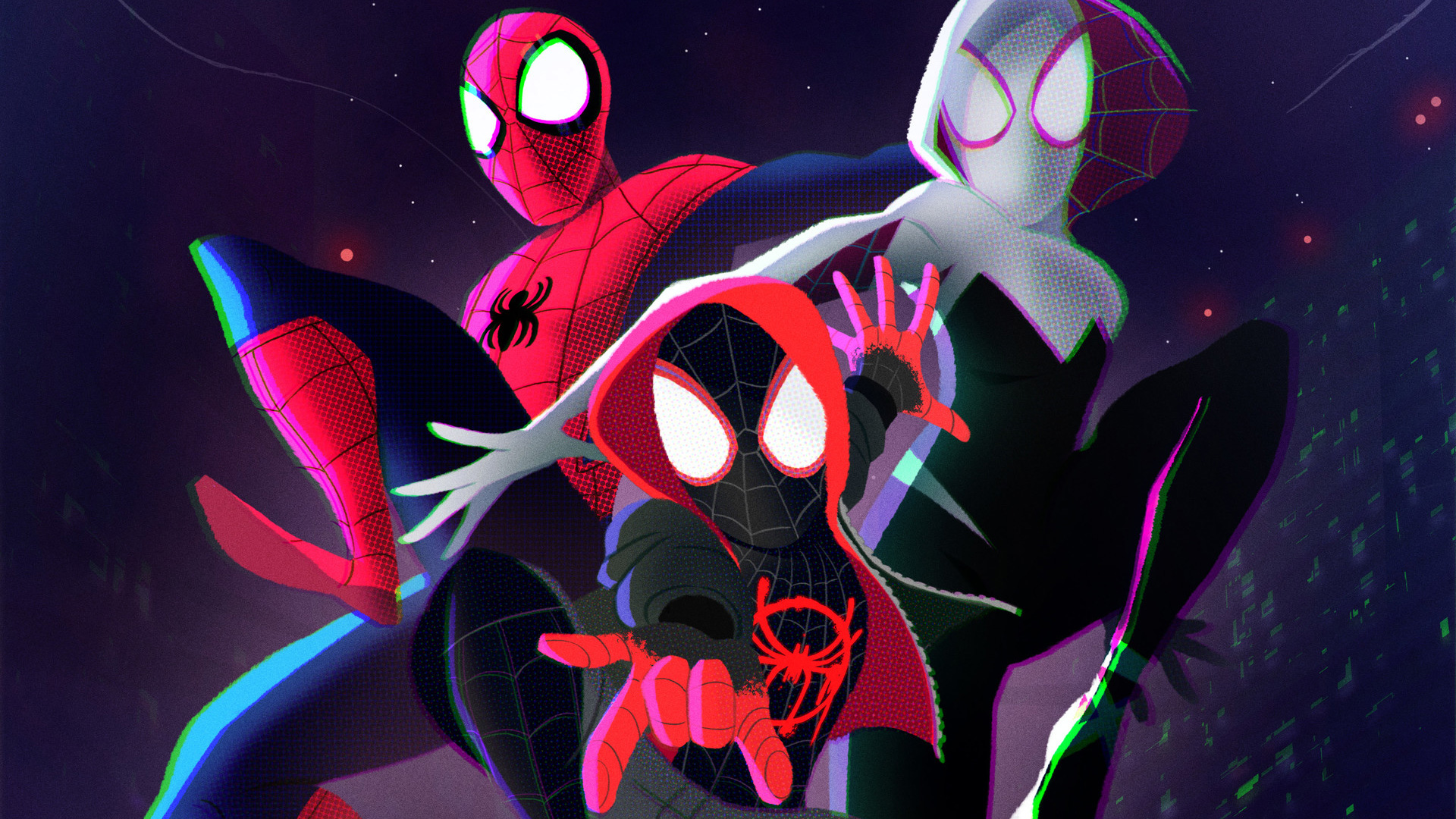 Free Download Spider Man Into The Spider Verse Hd Wallpaper