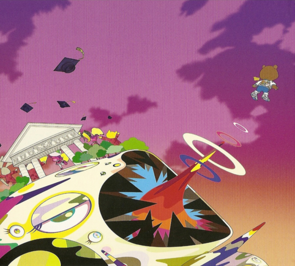 Free Download Kanye West Graduation Iphone Wallpaper Graduation