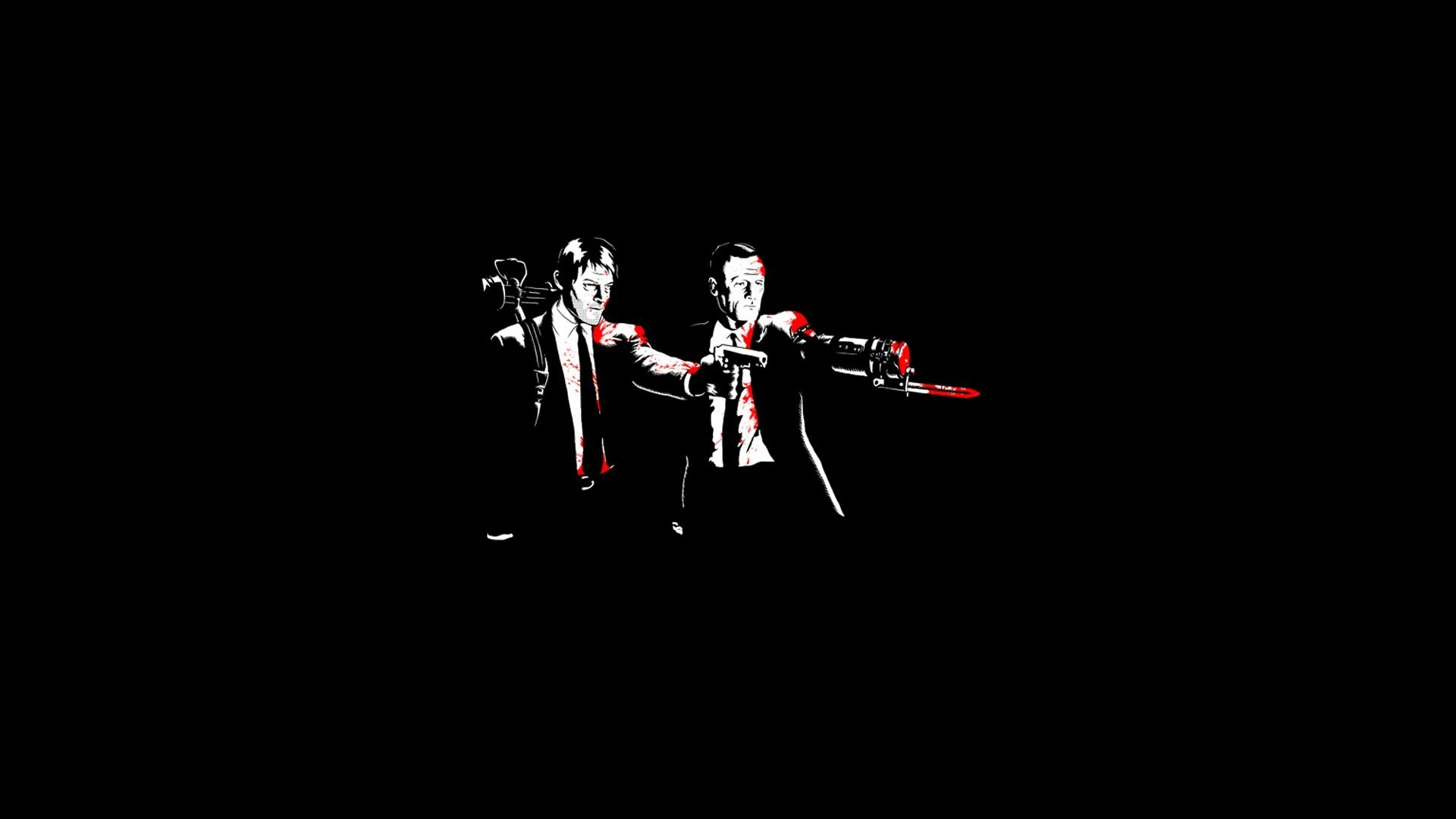Free Download Pulp Fiction Walking Dead Crossover Wallpapers Hd 485238 1920x1080 For Your Desktop Mobile Tablet Explore 46 Pulp Fiction Wallpaper Hd Star Wars Pulp Fiction Wallpaper Fiction Wallpapers