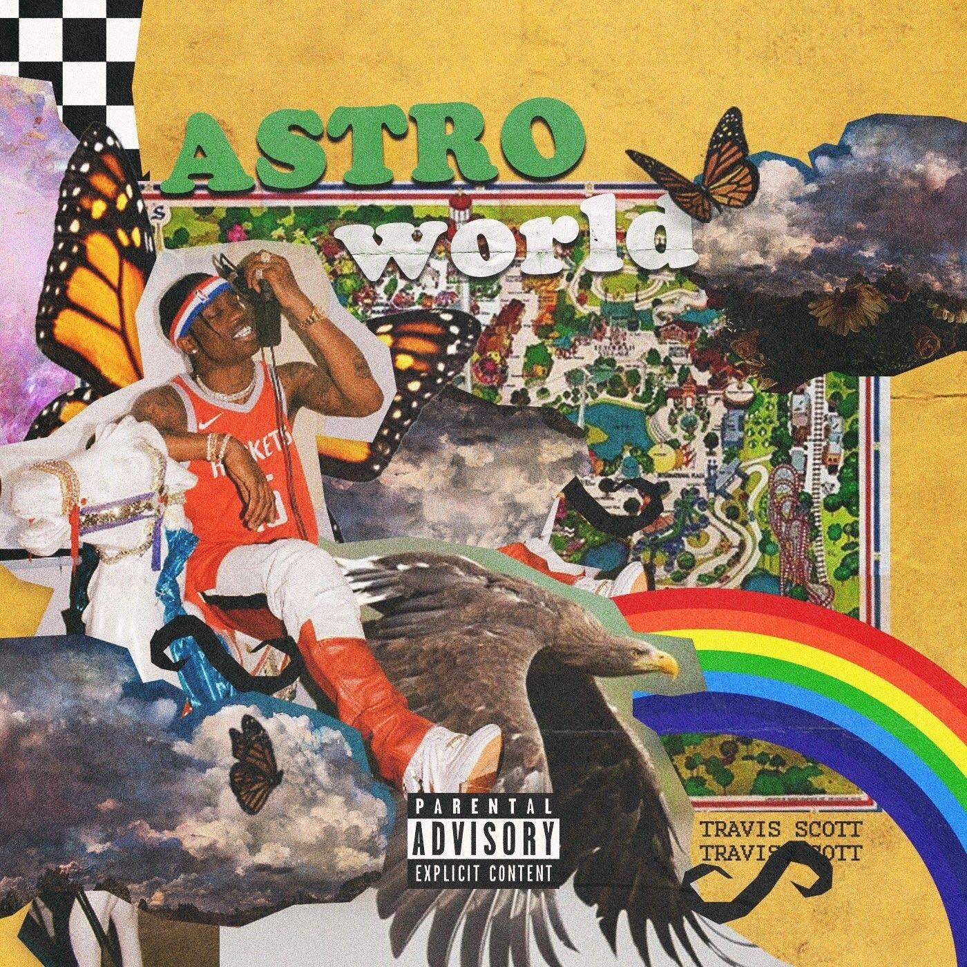 TRAVIS SCOTT With images Travis scott wallpapers Album cover 1400x1400