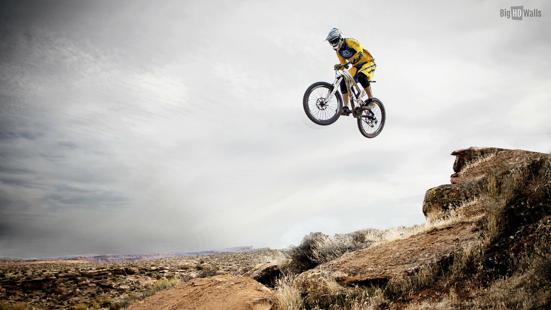 mountain bike wallpaper hd - wallpapersafari, Powerpoint templates