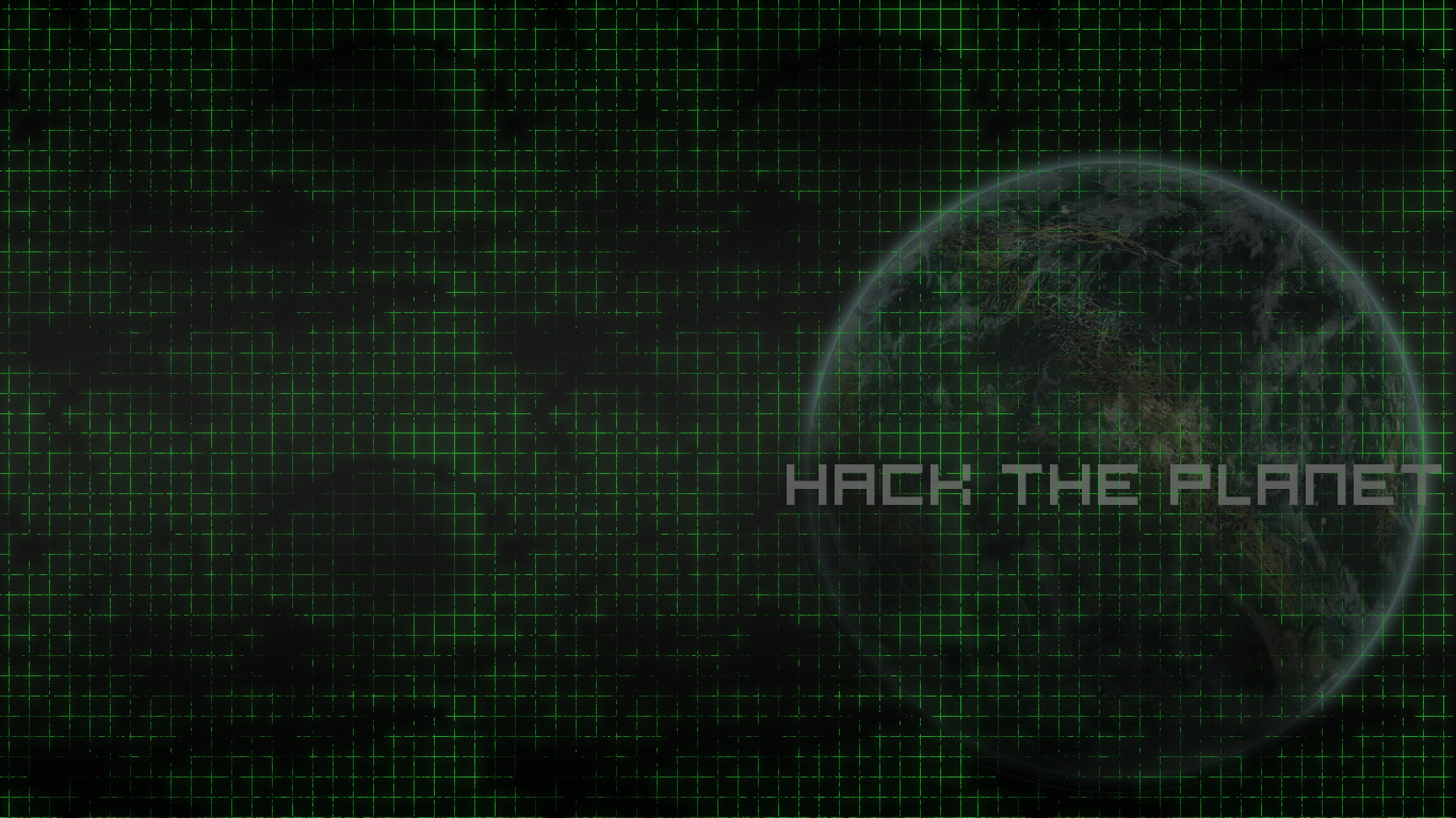 hack the planet wallpaper by nextphasedesign d5dnpfo 1366x768