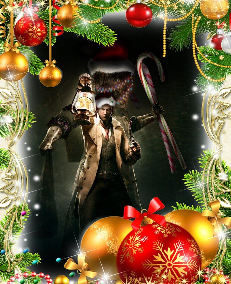 Evil Wallpapers: Evil Christmas Wallpaper