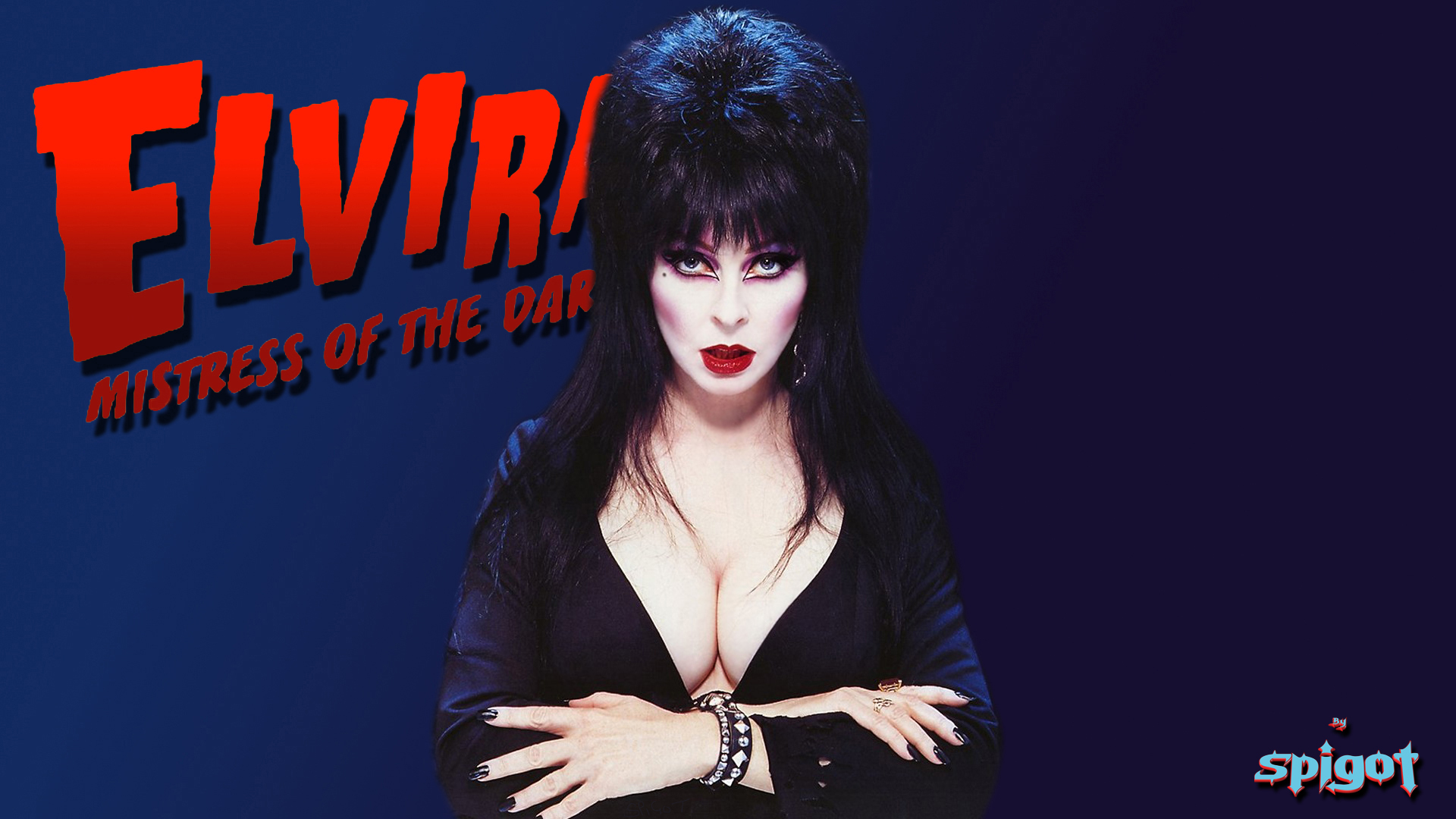 Elvira Halloween Wallpaper 31 George Spigots Blog 1920x1080