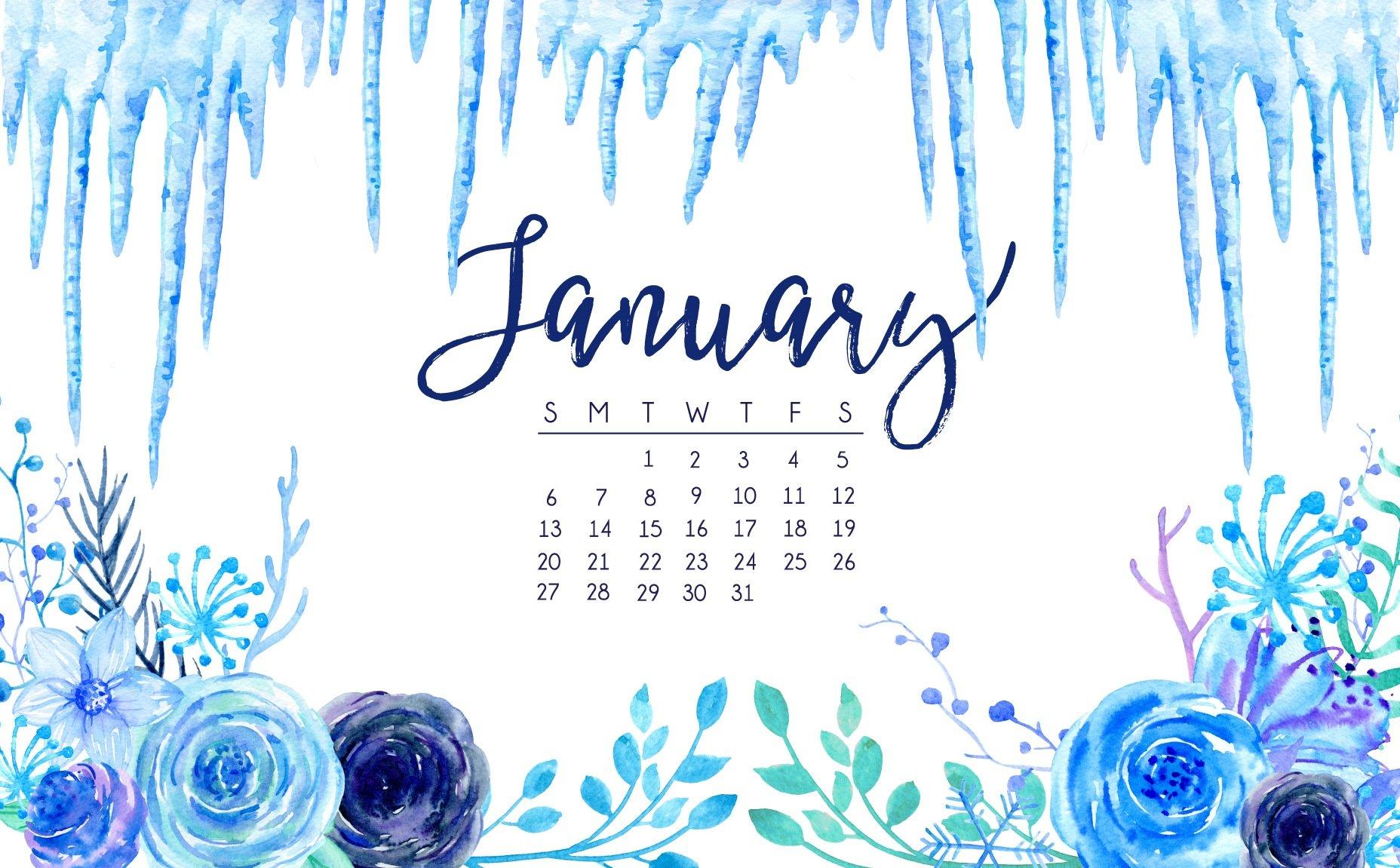 January 2019 HD Calendar Wallpapers Latest Calendar 1856x1151