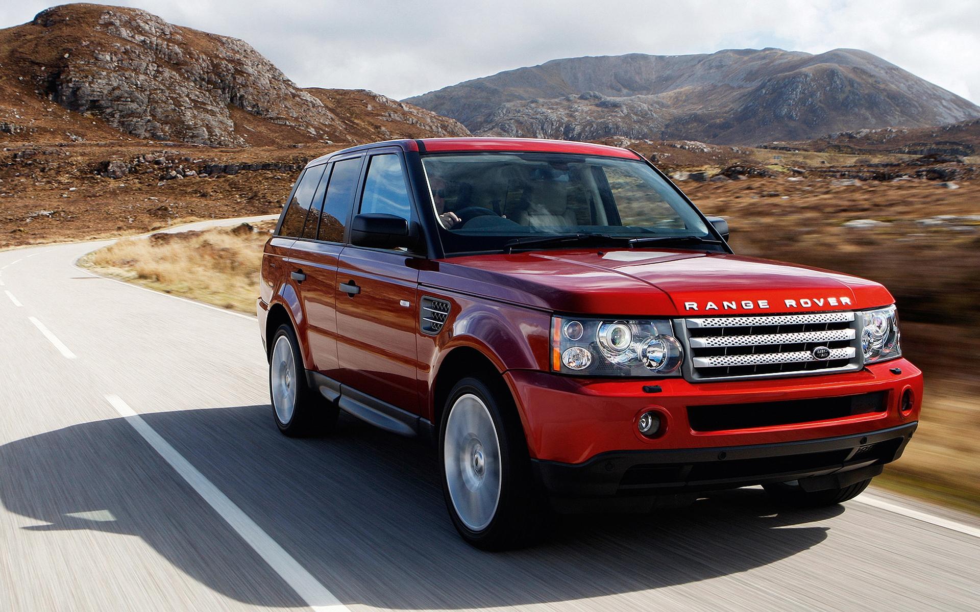 Red Range Rover Wallpaper - WallpaperSafari