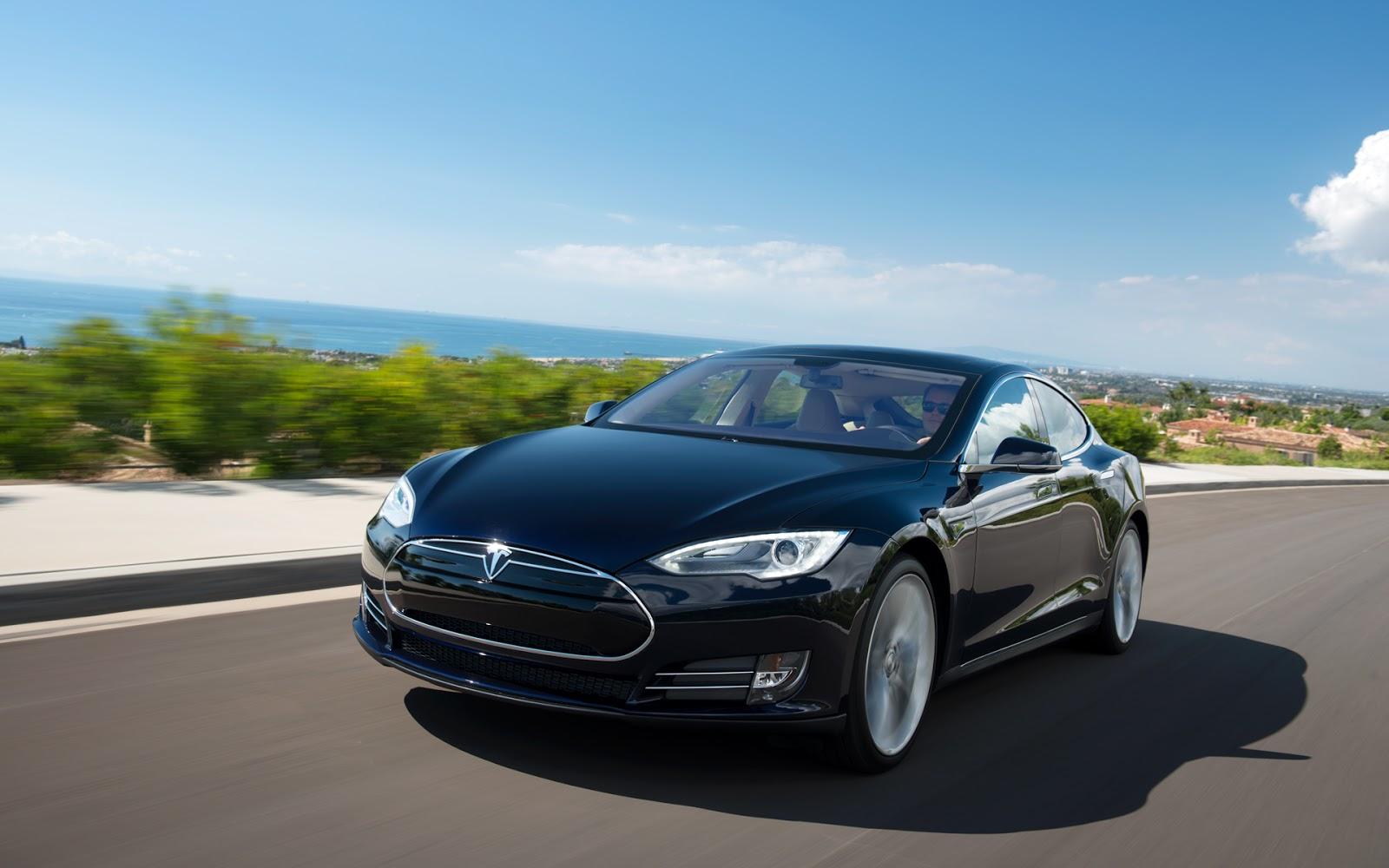 Cars Tesla Model S Electric Eco Sedan Car Photos Wallpapers 1600x1000