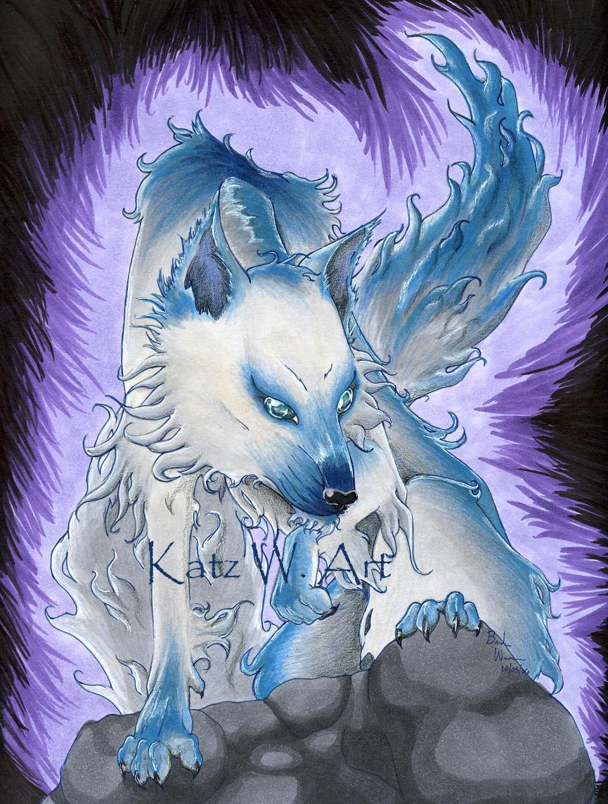 Image Result For Blue Anime Wallpaper Wallpapersafari