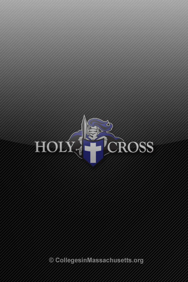 holy cross crusaders iphone wallpaper 3 College of the Holy Cross 640x960