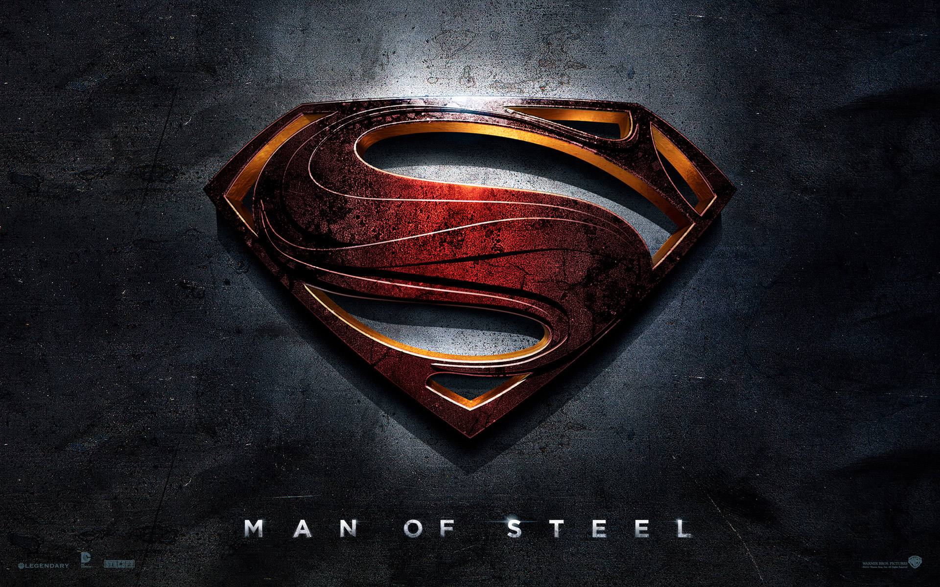 the man of steel movie hd wallpapers man of steel logo wallpaper 1920x1200