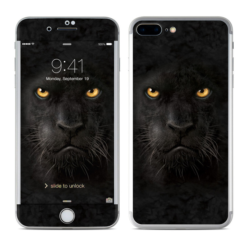 Apple iPhone 7 Plus Skin   Black Panther by The Mountain DecalGirl 800x800