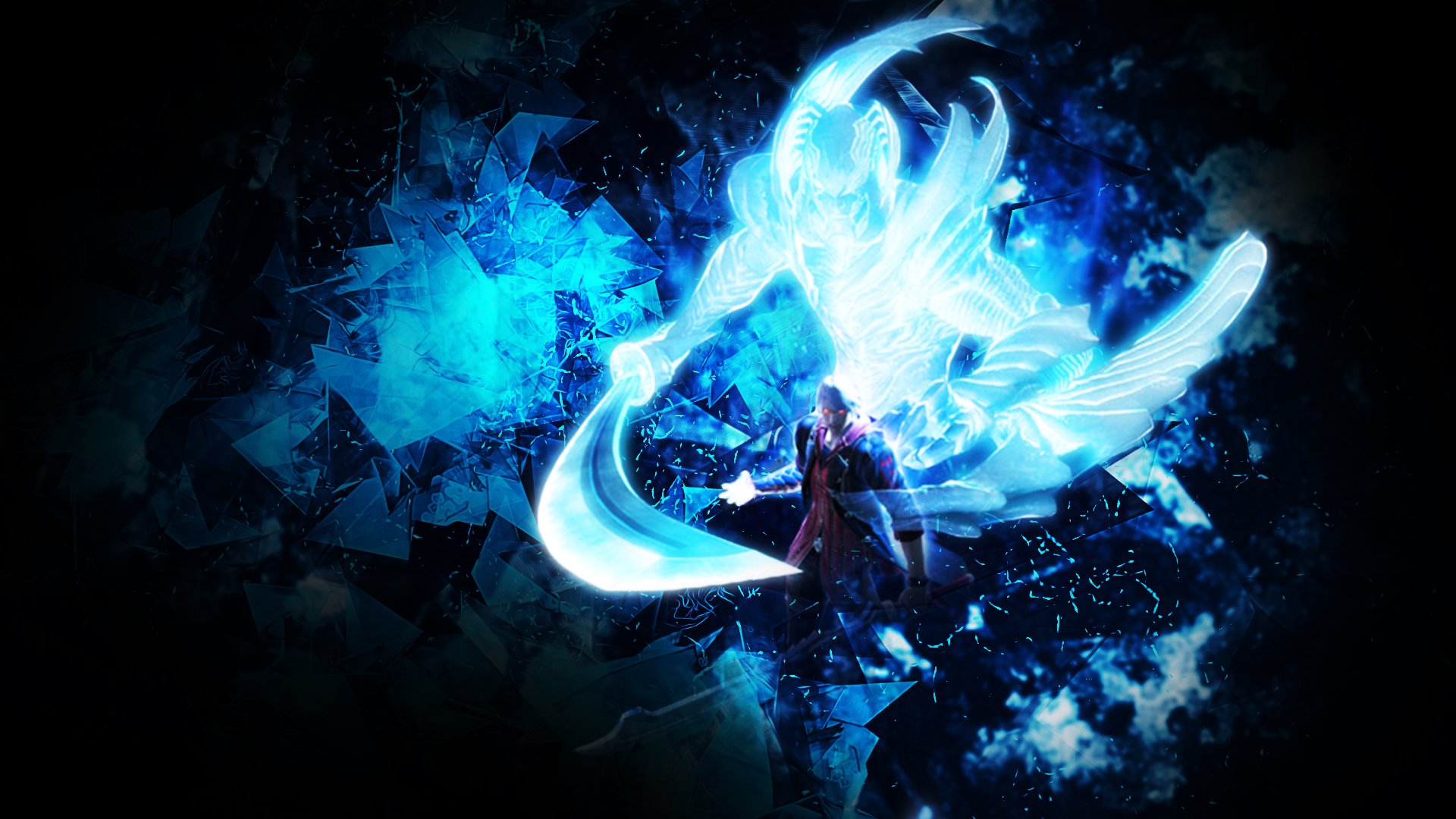 Chica Con Alas De Angel Full Hd En Fondos 1080: Devil May Cry Wallpaper Hd