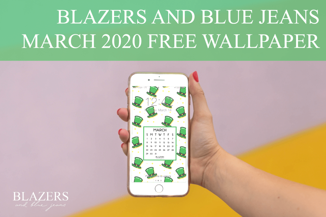 St Patricks Day Wallpaper Blazers and Blue Jeans 1140x760