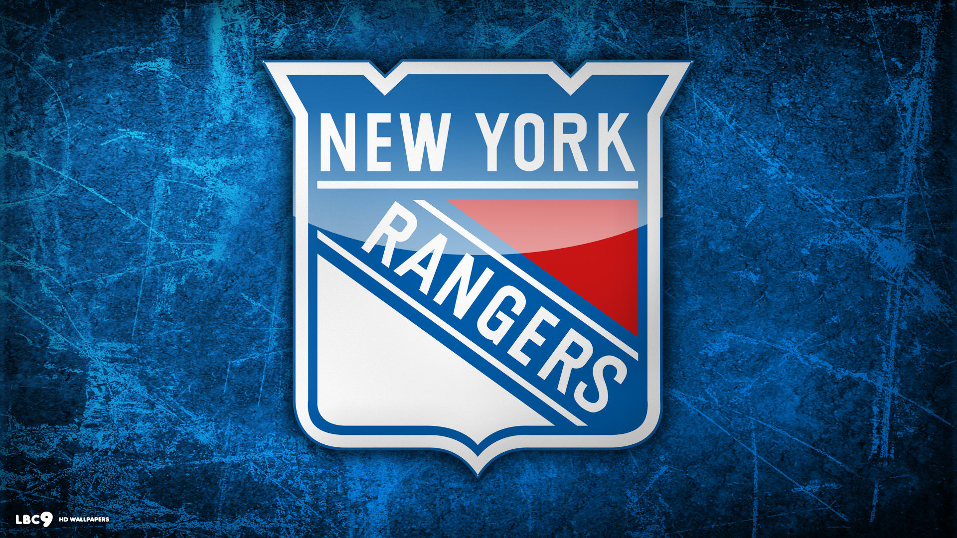 New York Rangers Hockey Logo Wallpaper 1920x1080